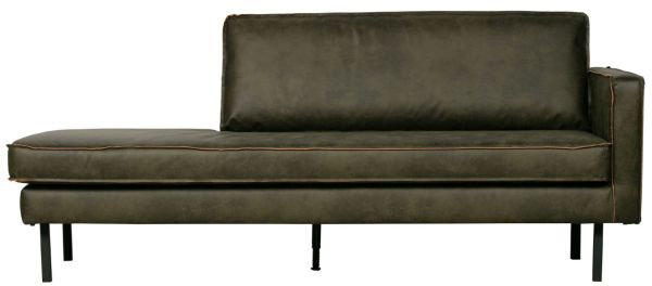 Chaiselongue Rodeo rechts in army von BePureHome
