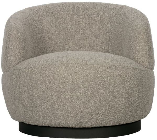 Sessel Woolly in grau von BePureHome