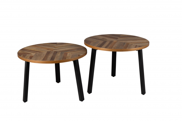 Beistelltisch Coffee Table MUNDO 2er Set