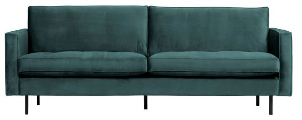 Sofa Rodeo Classic 2,5-Sitzer in teal von BePureHome
