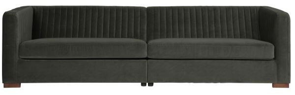 Sofa Nouveau XL in onyx von BePureHome