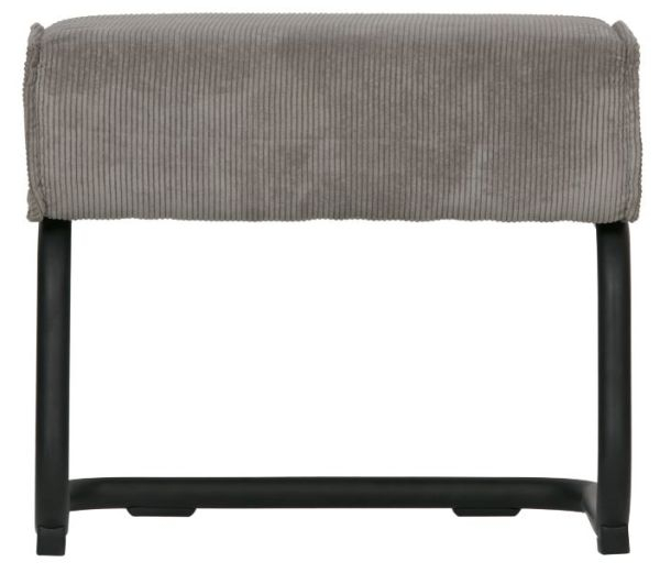 Hocker Micha in grau von WOOOD