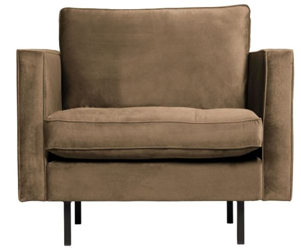 Sessel Rodeo Classic in taupe von BePureHome