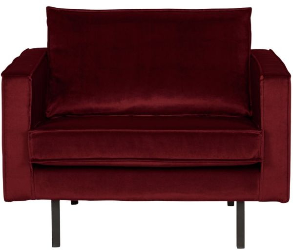 Sessel Rodeo in rot von BePureHome