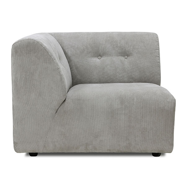 Vint Couch, Modul links in Creme von HK Living